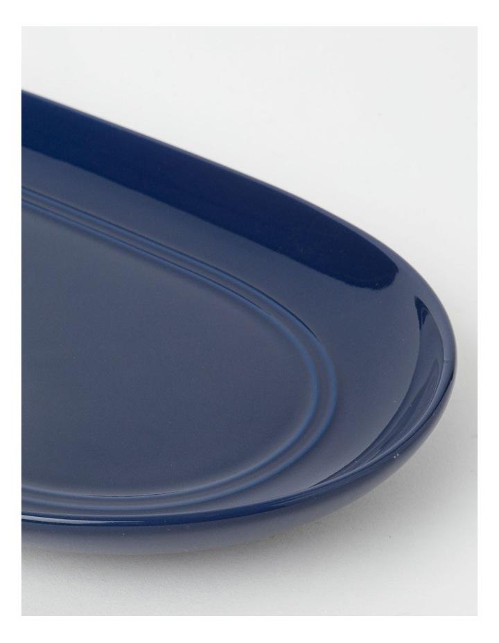 Avenue Oval Platter Indigo image 2
