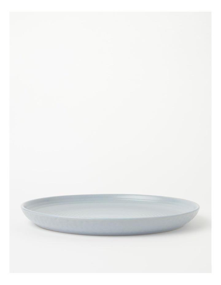 Desert Bloom Round Platter Spa Blue image 1