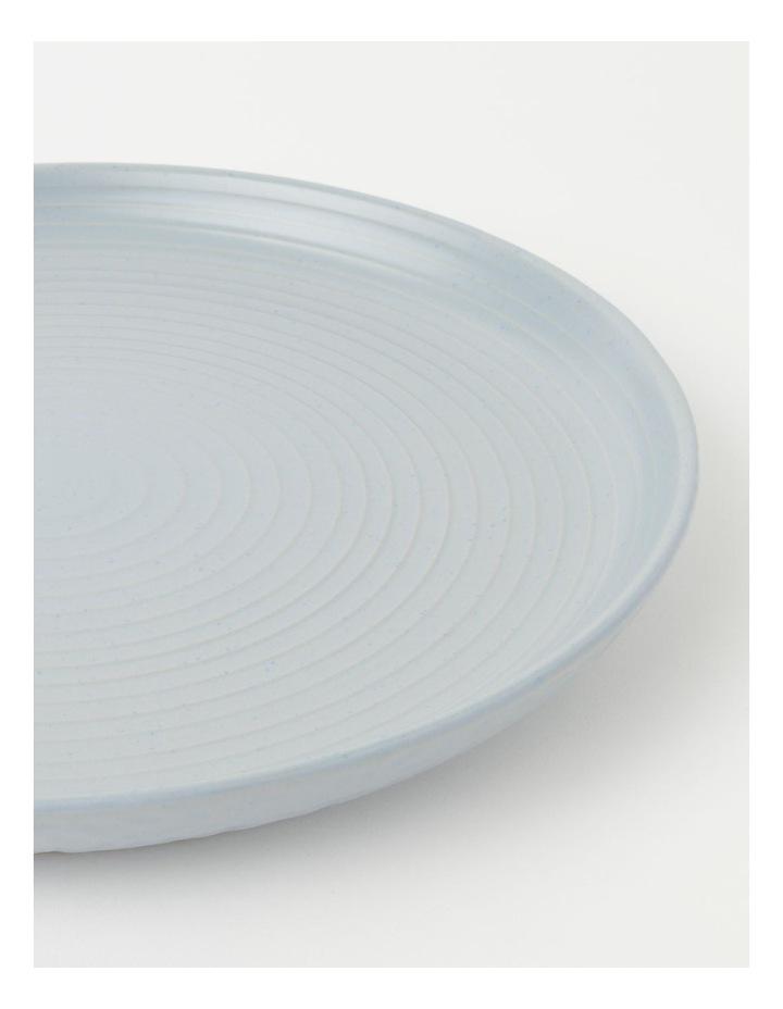 Desert Bloom Round Platter Spa Blue image 4