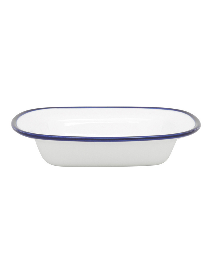 Indigo Rim 16cm Small Serving Dish image 1