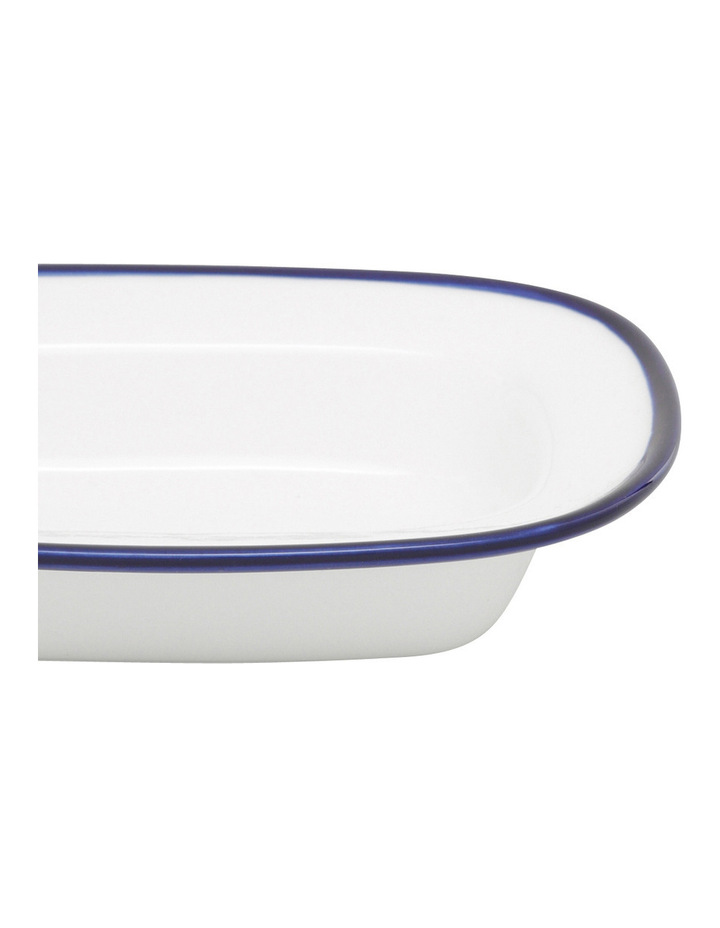 Indigo Rim 16cm Small Serving Dish image 2