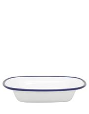 Heritage - Indigo Rim 16cm Small Serving Dish