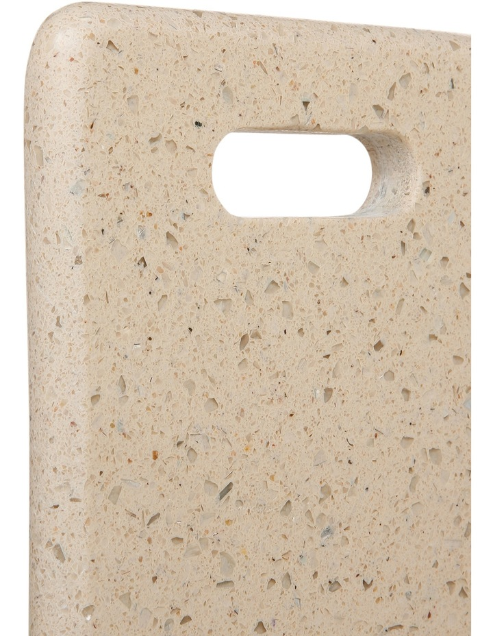Champagne Rectangle Terrazzo Board With Handle 30cm image 2