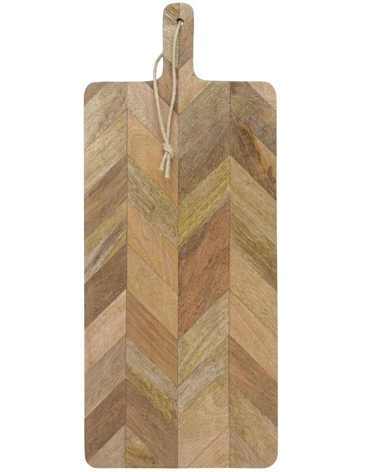 Herringbone Wood Rectangle Paddle Board image 1