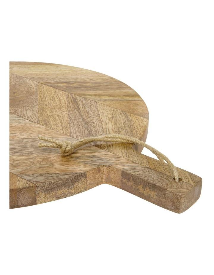 Herringbone Wood Round Paddle Board image 2
