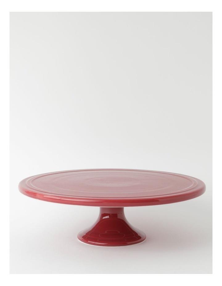 Avenue Cake Stand in Crimson image 1
