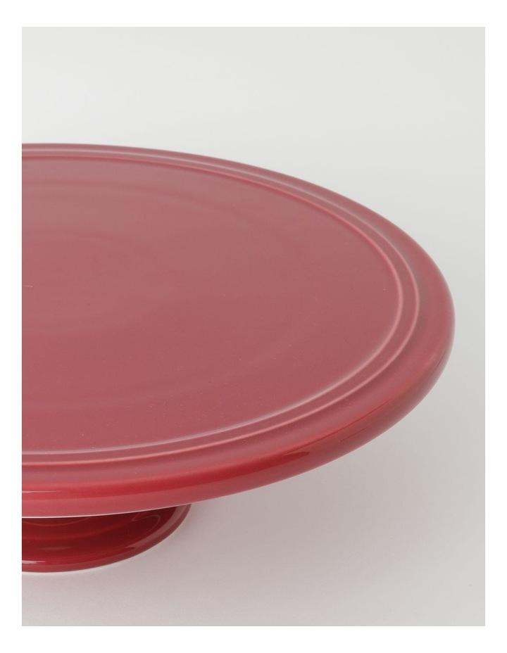 Avenue Cake Stand in Crimson image 2