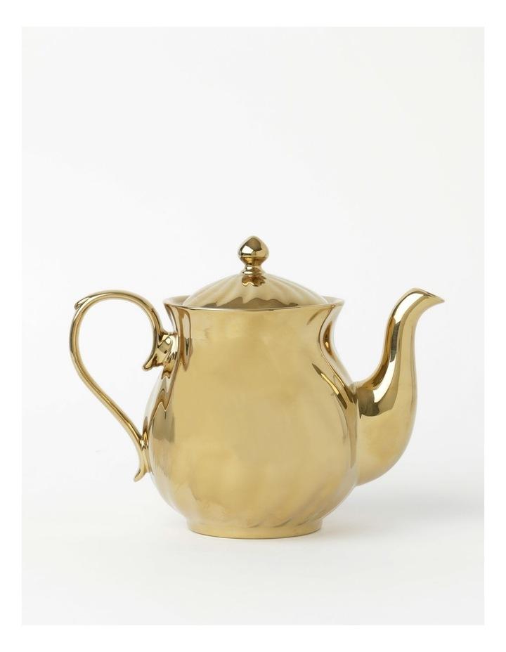 Gold Rope Tea Pot image 1