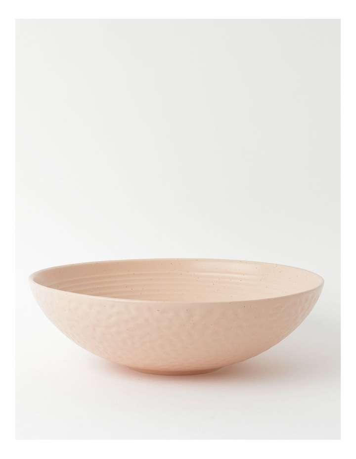 Desert Bloom Serving Bowl in Pink image 1