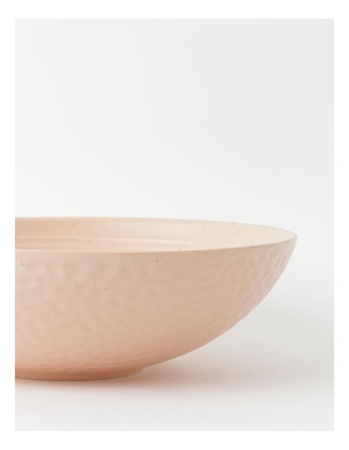 Desert Bloom Serving Bowl in Pink image 3