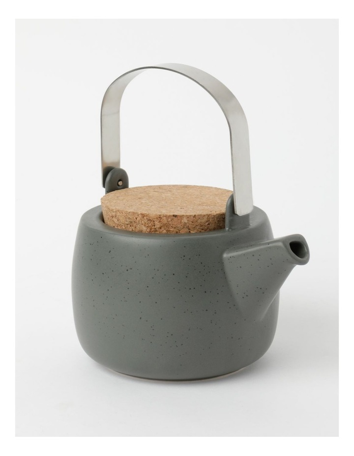 Desert Bloom Tea Pot Dark Green image 2