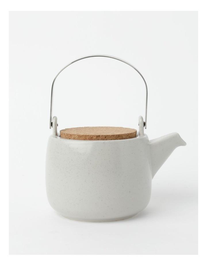 Desert Bloom Tea Pot Grey image 1