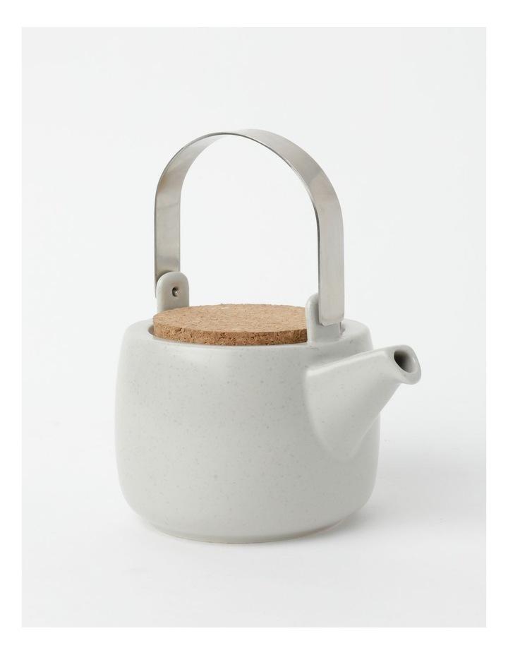 Desert Bloom Tea Pot Grey image 3