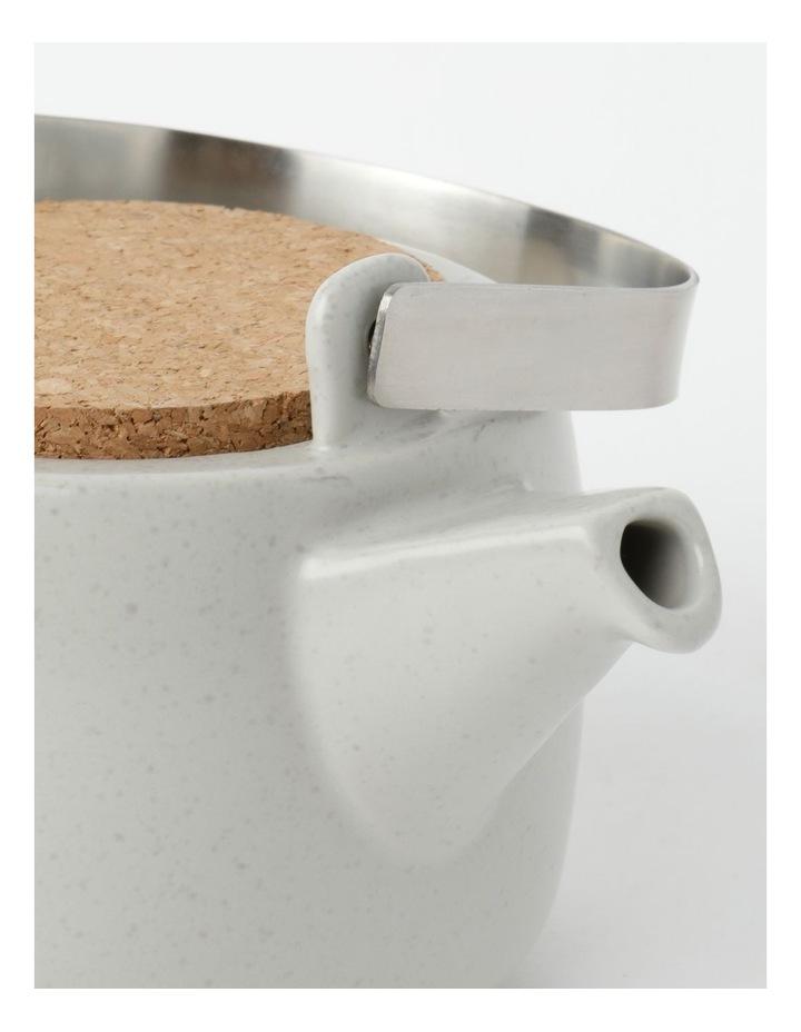 Desert Bloom Tea Pot Grey image 4