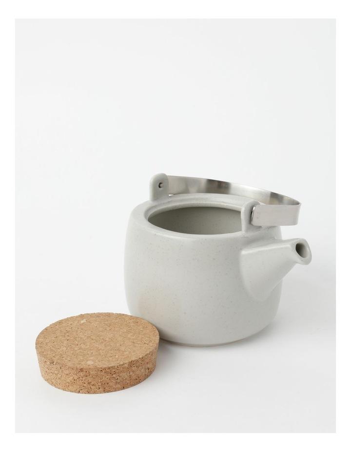 Desert Bloom Tea Pot Grey image 5