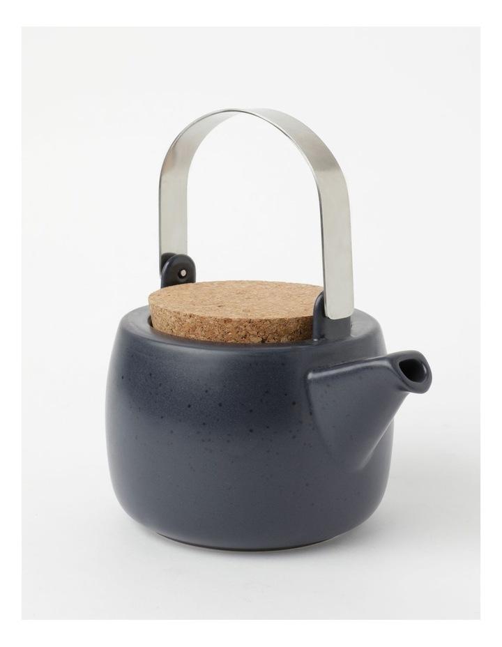 Desert Bloom Tea Pot Midnight Blue image 2