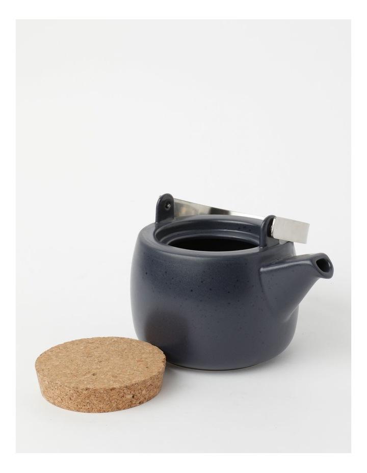 Desert Bloom Tea Pot Midnight Blue image 4