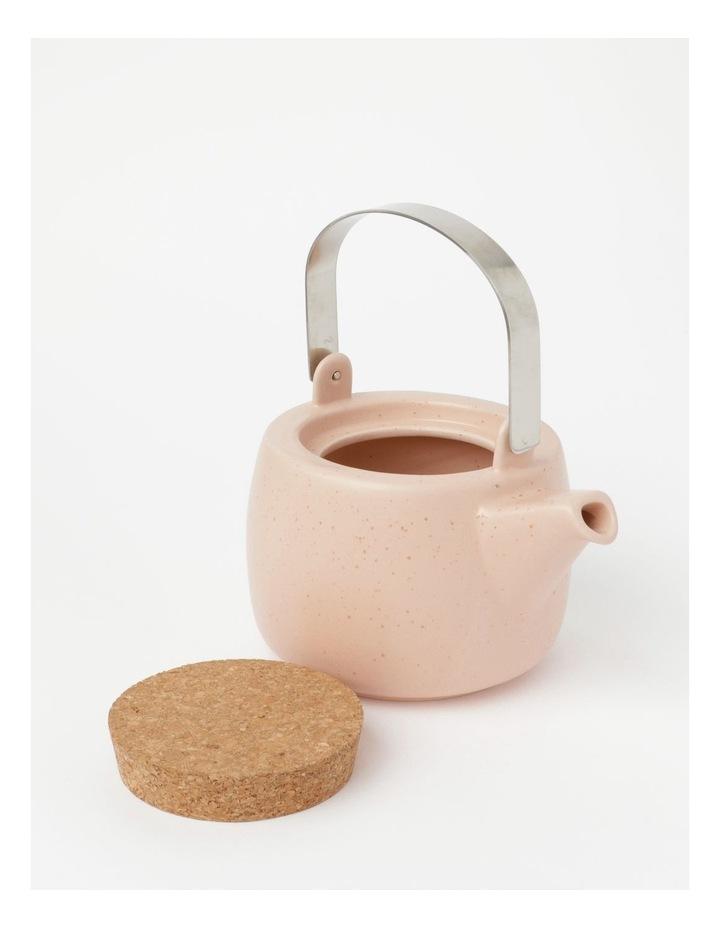 Desert Bloom Tea Pot In Pink image 2