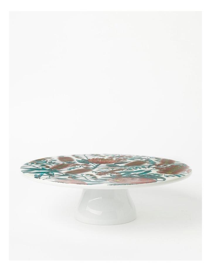 Australian Floral Footed Cake Stand image 1