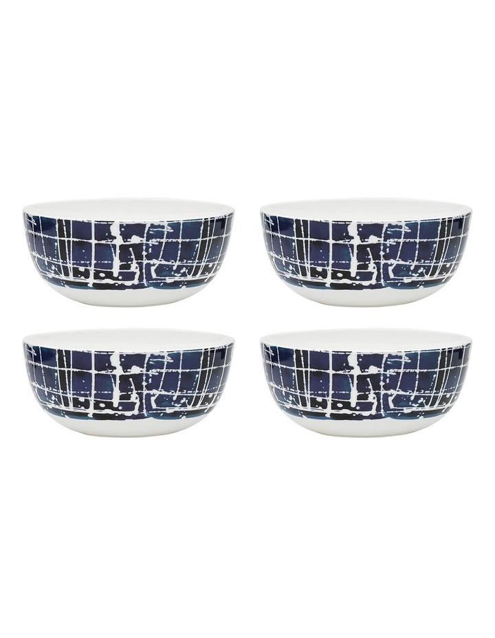 Inkwell Set of 4 Noodle Bowl Midnight 16cm image 1