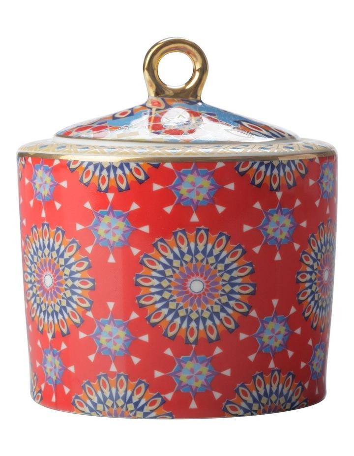 Teas & C's Isfara Sugar BowlPashar Red 320ML Gift Boxed image 1