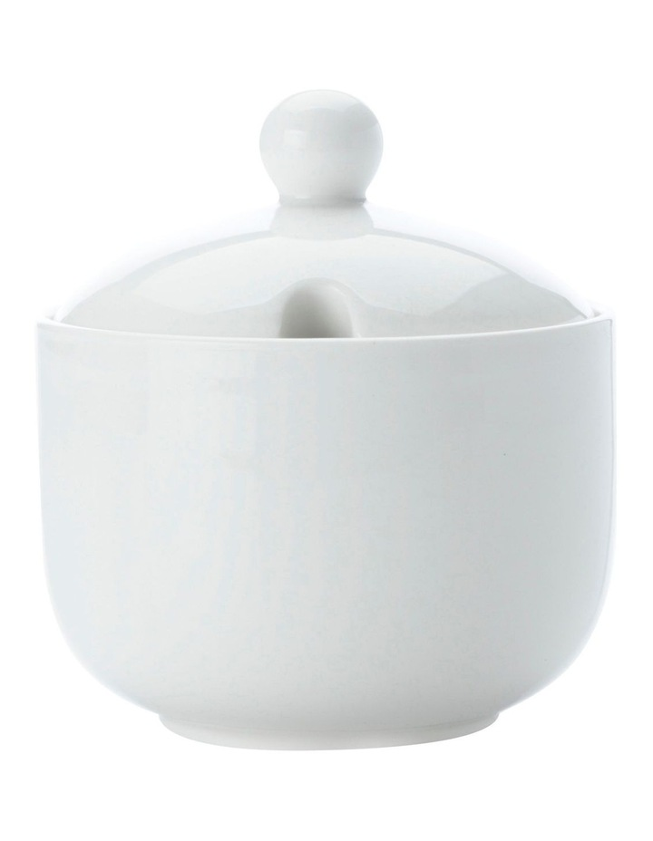 White Basics Jumbo Sugar Bowl Gift Boxed image 1