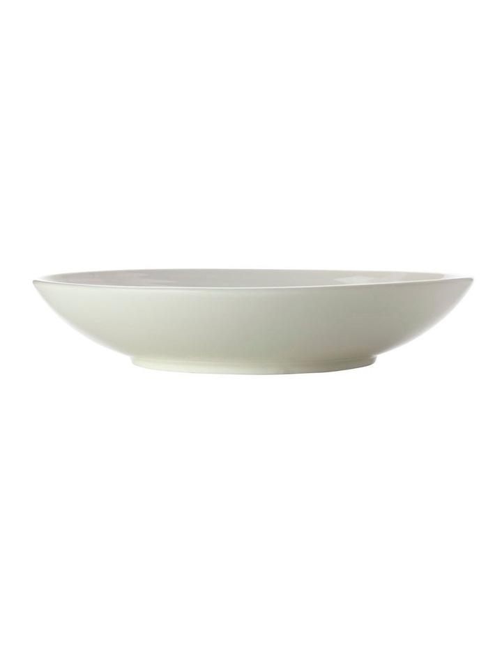 Swirl Round Bowl 29cm White Gift Boxed image 1