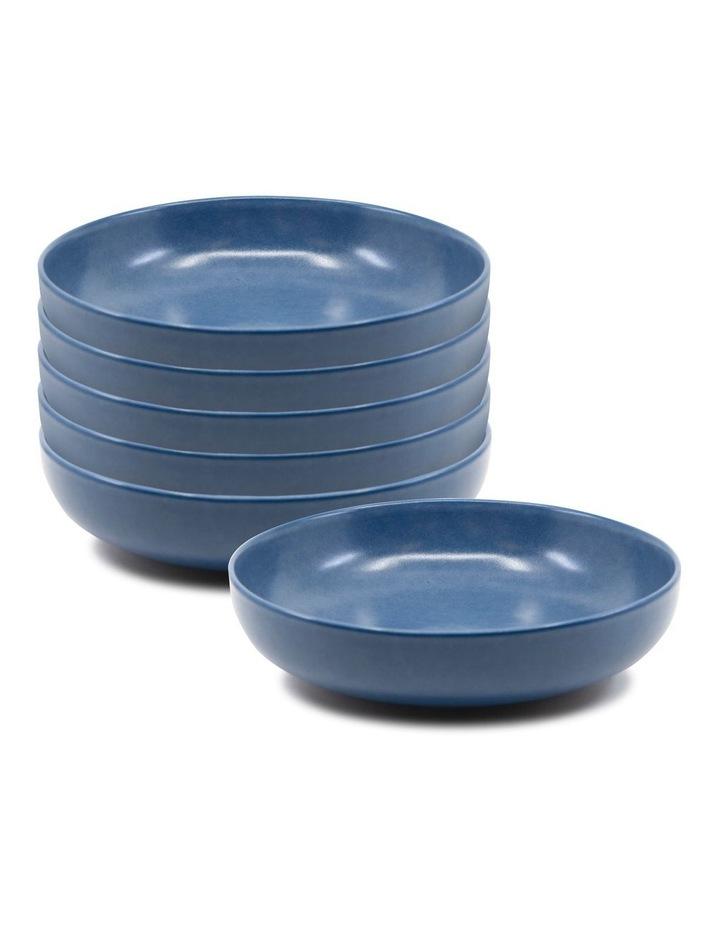 Hue Soup Bowl 20cm - Blue - Set of 6 image 1