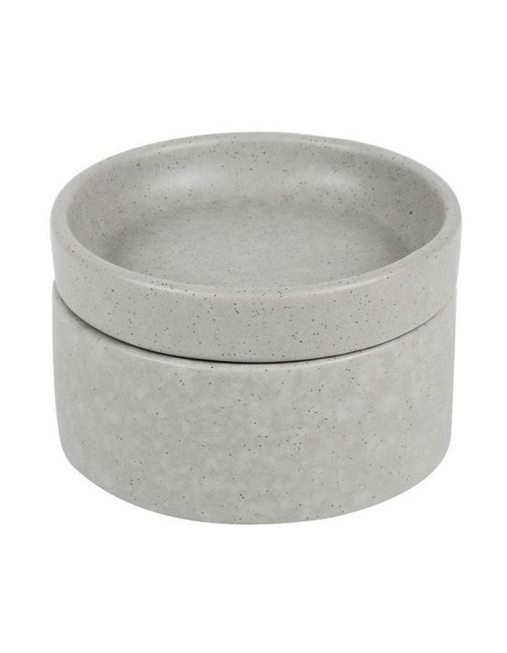Stack, Serve & Store Condiment Bowl & Dish - Reactive Glaze Grey image 1