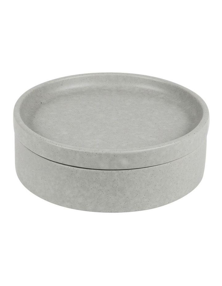Stack, Serve & Store Bowl & Plate - Reactive Glaze Grey image 1