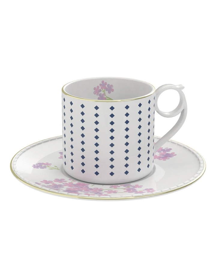 Eclectic Floral Tea Cup & Saucer  220ml image 1