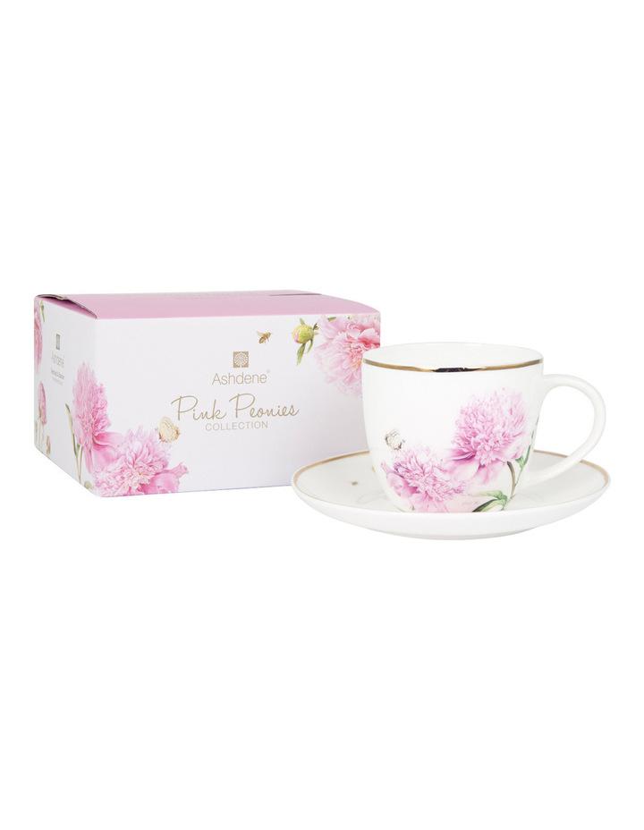 38392c3a04 Ashdene | Tea Cup & Saucer - Pink Peonies | MYER