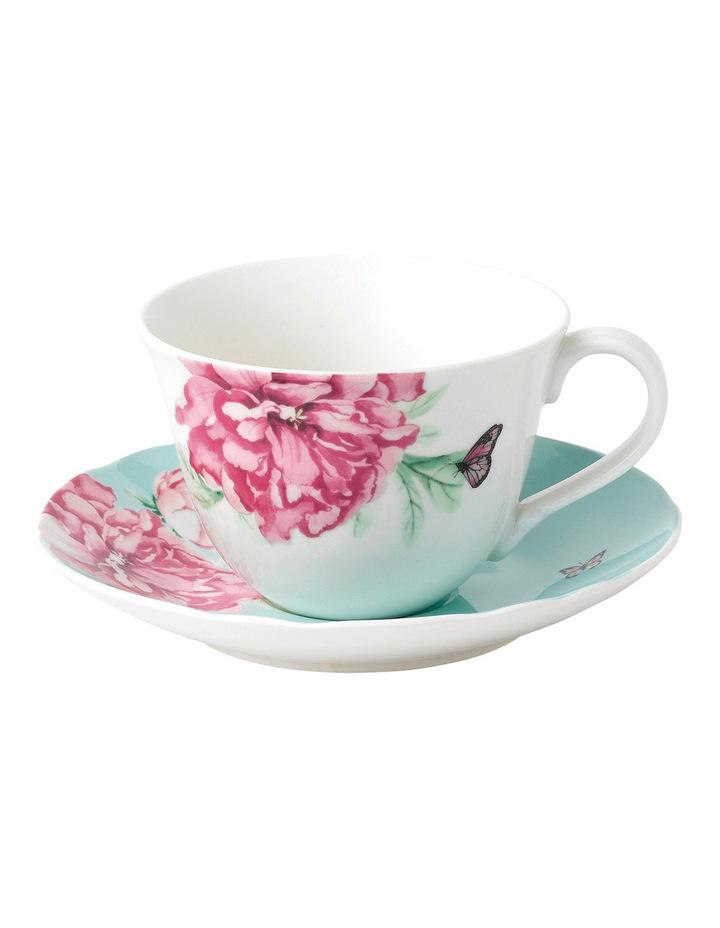 Everyday Friendshop Teacup & Saucer Green image 1