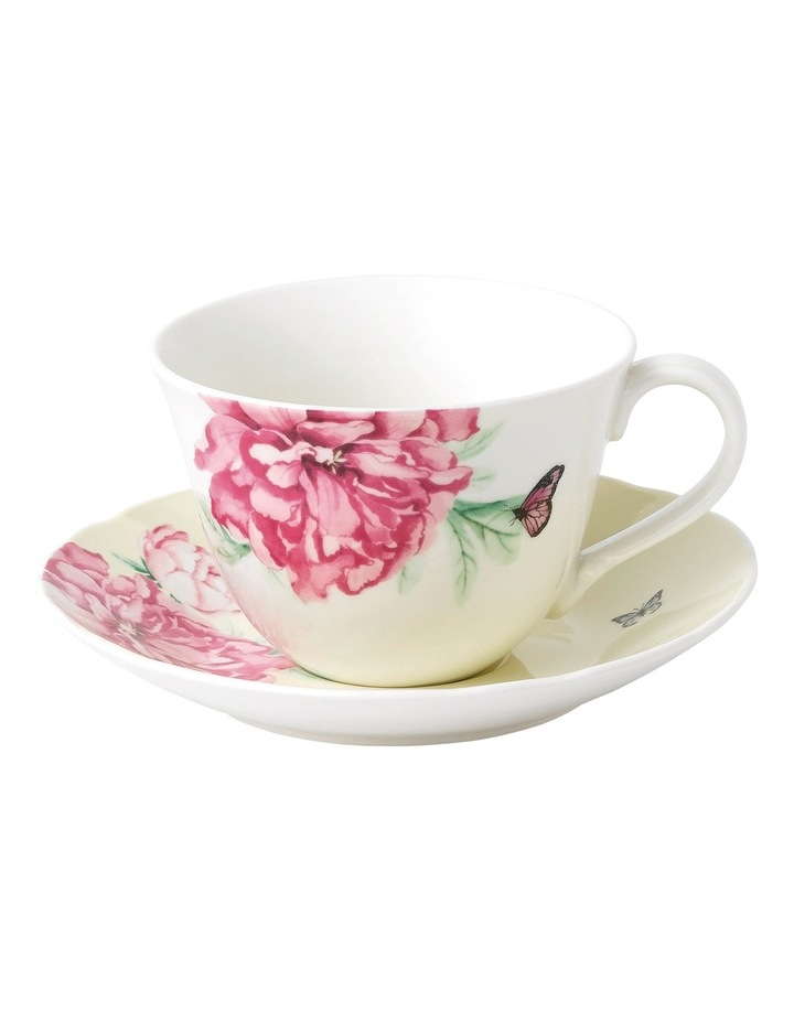 Everyday Friendshop Teacup & Saucer Yellow image 1