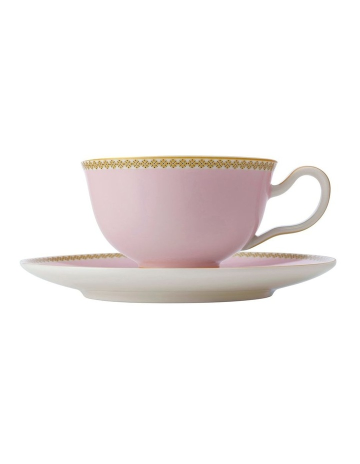 Teas & C's Contessa Classic Footed Cup & Saucer 200ML Red Gift Boxed image 1