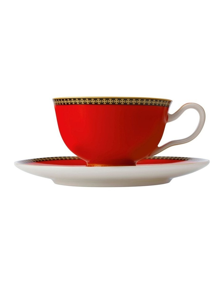 Teas & C's Contessa Classic Footed Cup & Saucer 200ML Rose Gift Boxed image 1