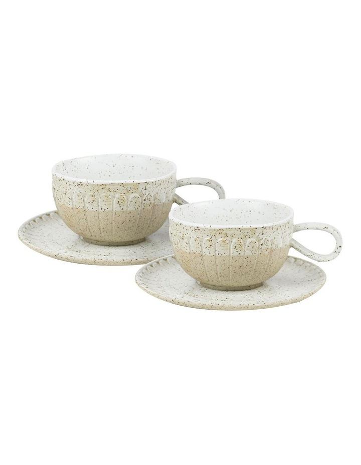 Ceylon Set of 2 Cup & Saucer image 1