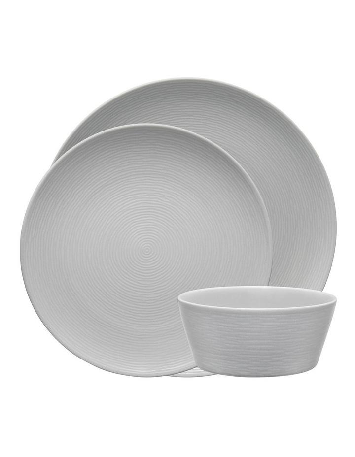 Swirl 12 Piece Dinner Set - Grey image 1