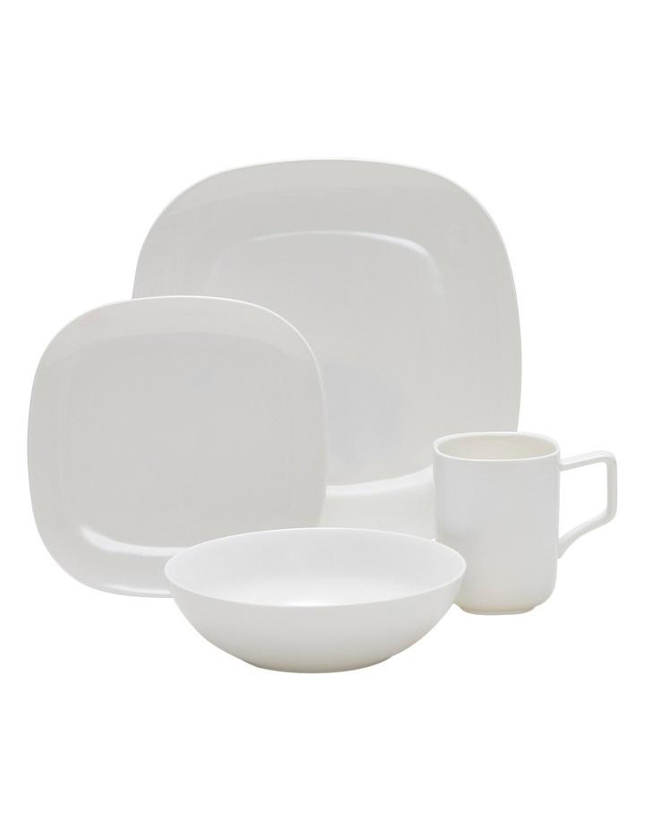 Shades 16 Piece Dinner Set - White image 1
