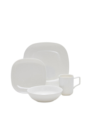 Salt&Pepper - Shades 16 Piece Dinner Set - White