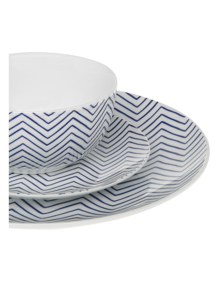 Cerito 12 Piece Dinner Set - Blue image 3