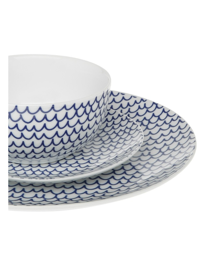 Cerito 12 Piece Dinner Set - Blue image 4