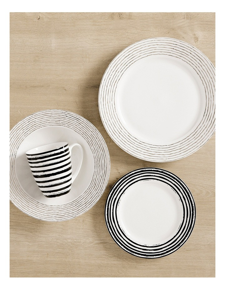 Tresor Rim Dinner Set Stripe 16 Piece Gift Boxed image 2