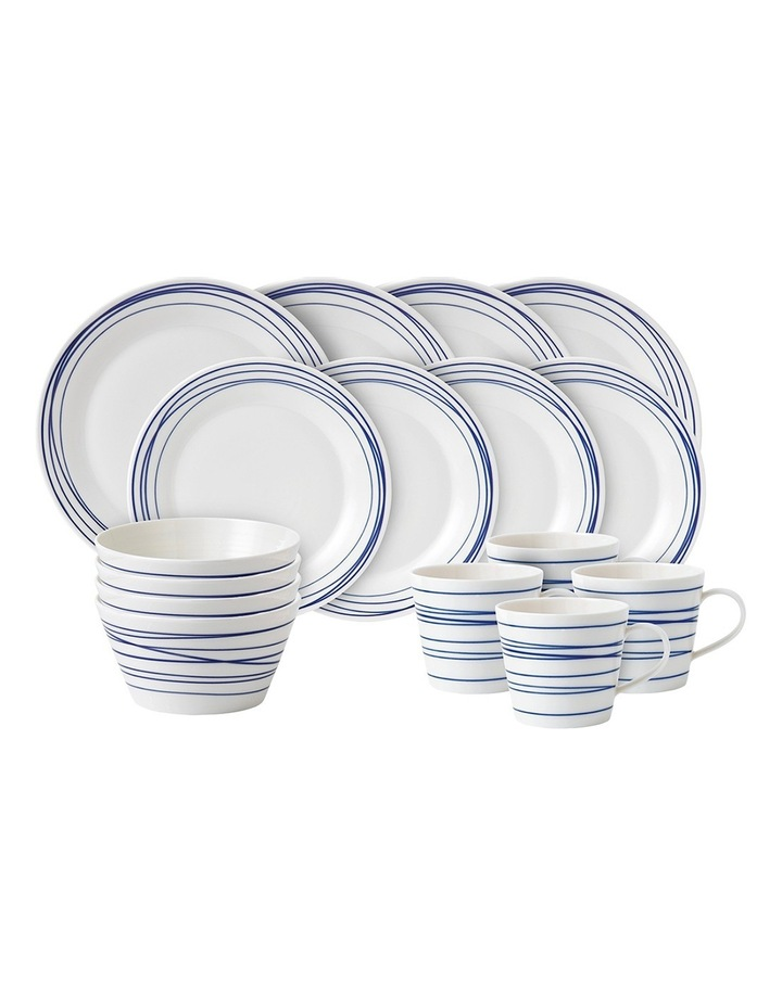 Pacific 16 Piece Dinner Set Lines image 1