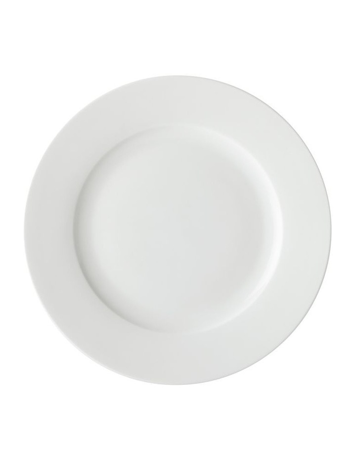 White Basics Soho Rim 16 Piece Dinner Set, Gift Boxed image 2