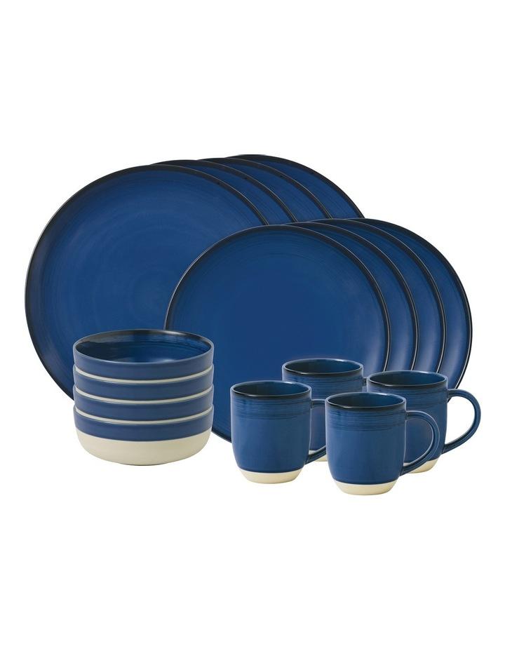Glaze Coblat Blue 16 Piece Dinner Set image 1