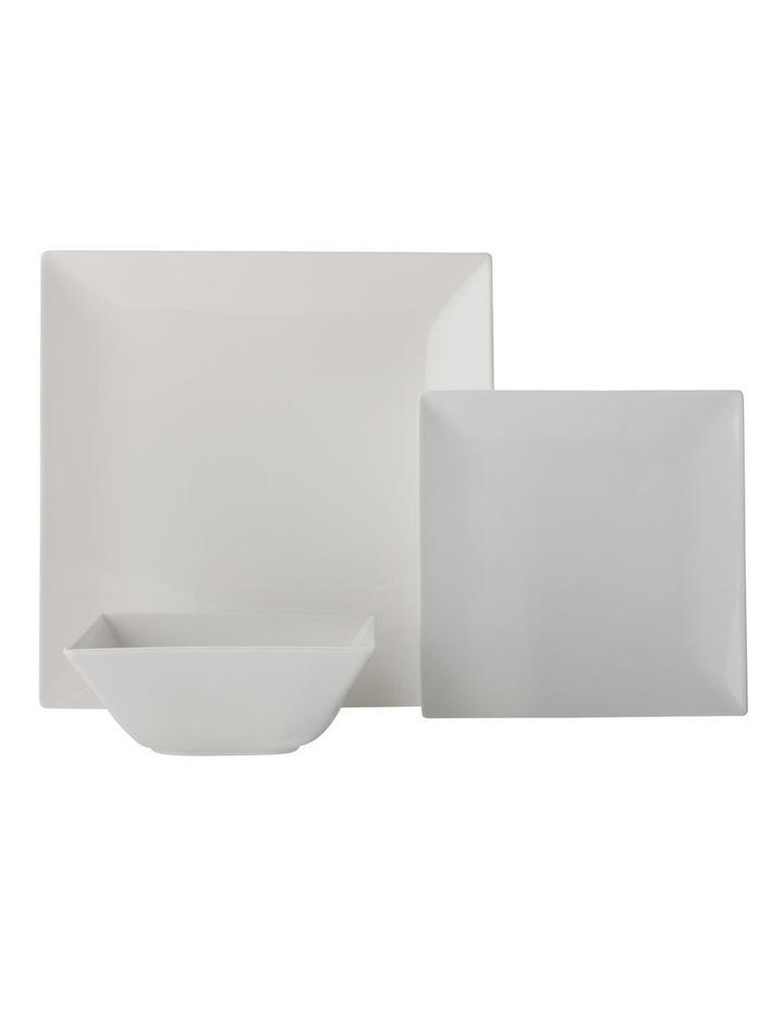 White Basics Linear Dinner Set 12pc Gift Boxed image 1