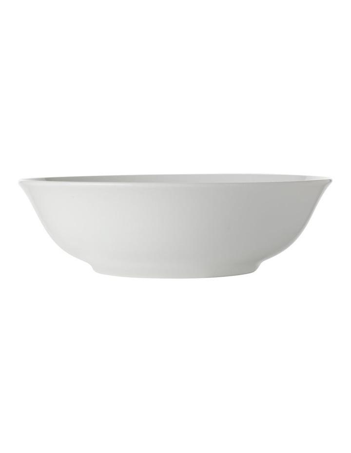 White Basics European Rim Dinner Set 12pc Gift Boxed image 4