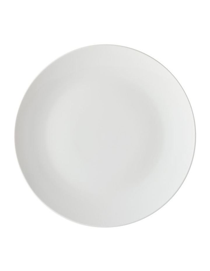 White Basics Tribeca Coupe Dinner Set 12pc Gift Boxed image 2