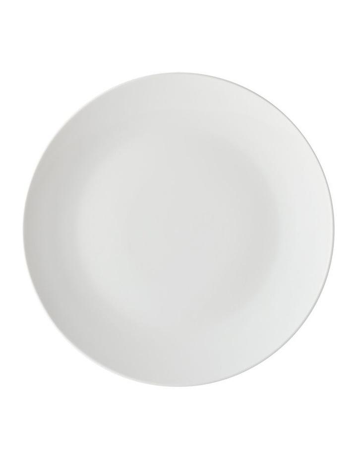 White Basics Tribeca Coupe Dinner Set 18pc Gift Boxed image 2